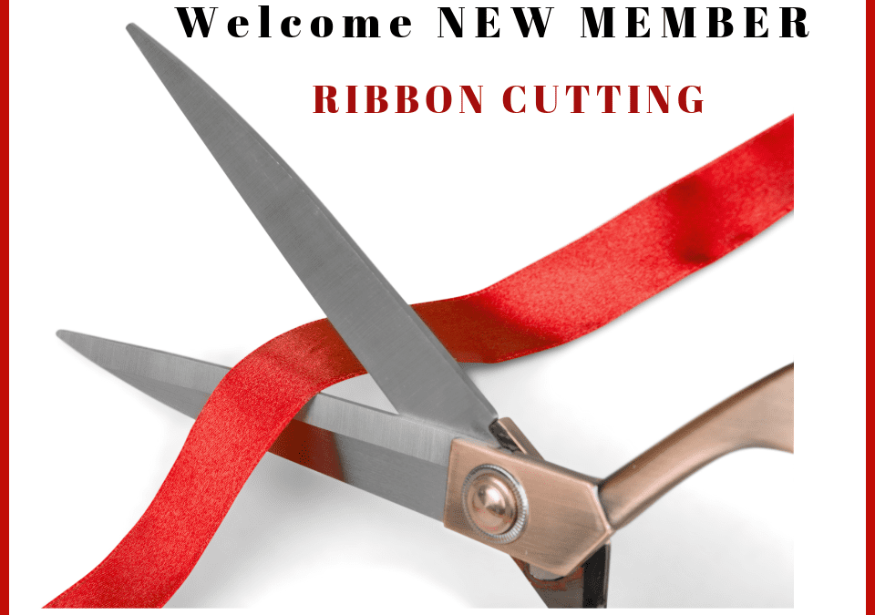 Ribbon Cutting Financial Fitness and Lake Holiday Homes